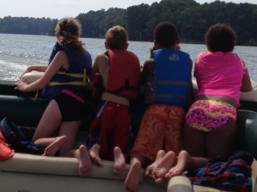 Our kids at the Lakehouse last summer.