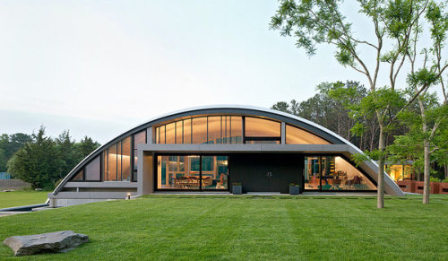 Arc House in East Hampton