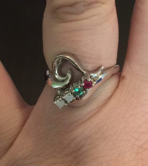 My updated Mother's Ring!