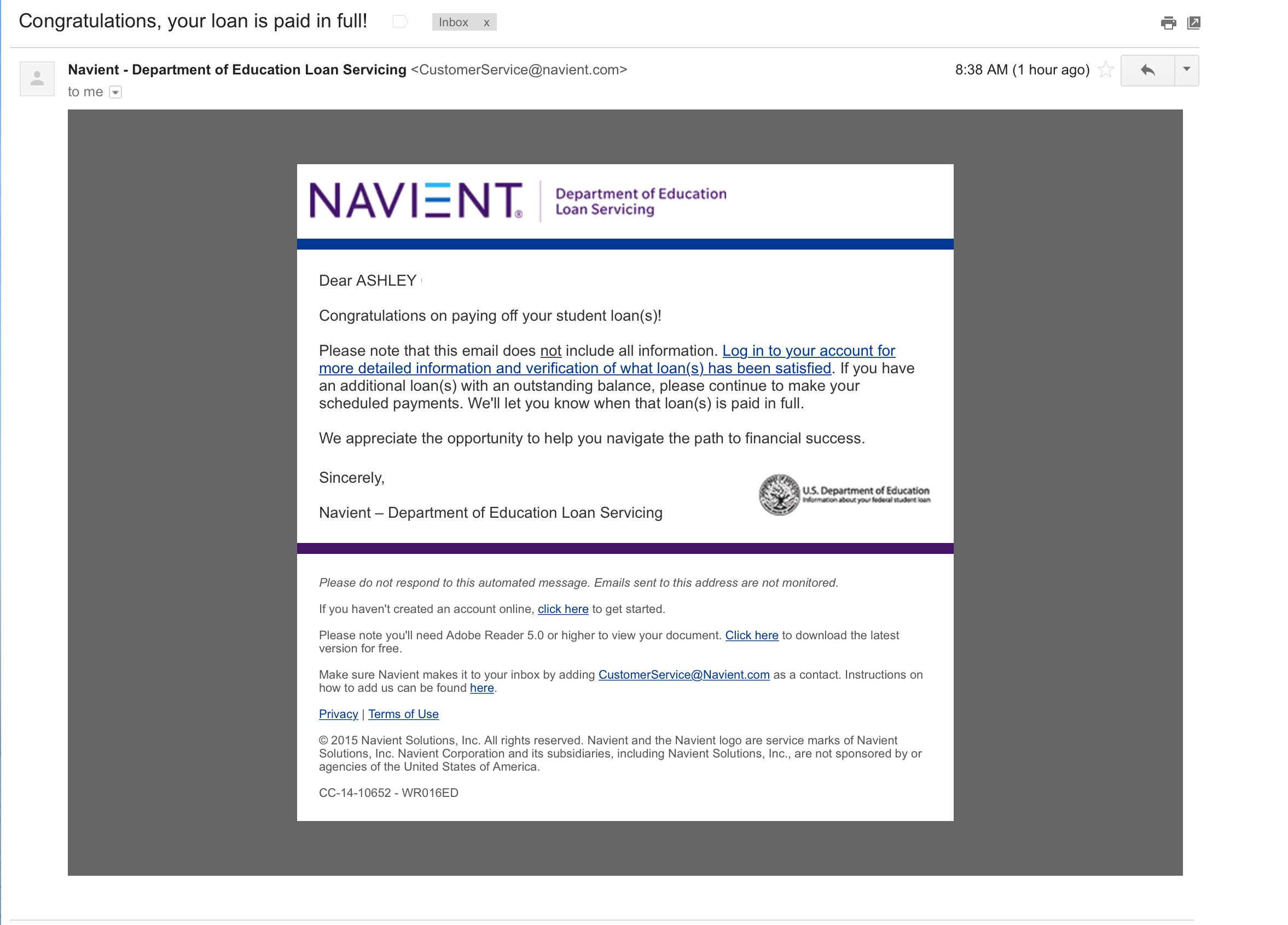 navient | Blogging Away Debt