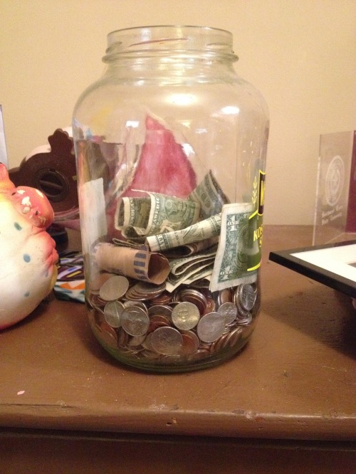 Our vacation fund.