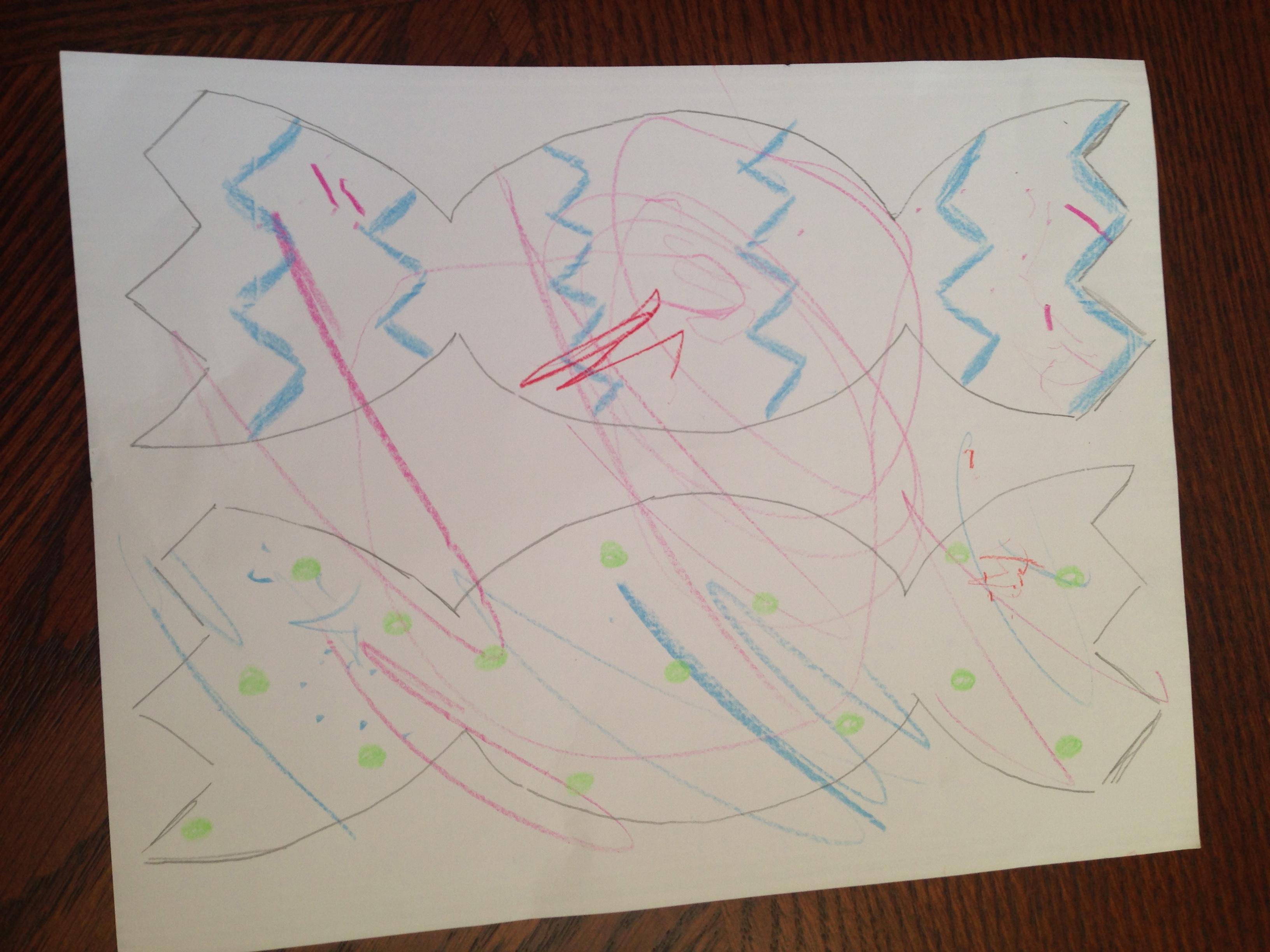 Toddler Easter Card Craft Idea