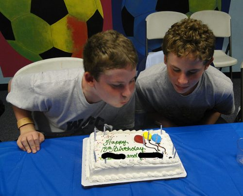 13th birthday party