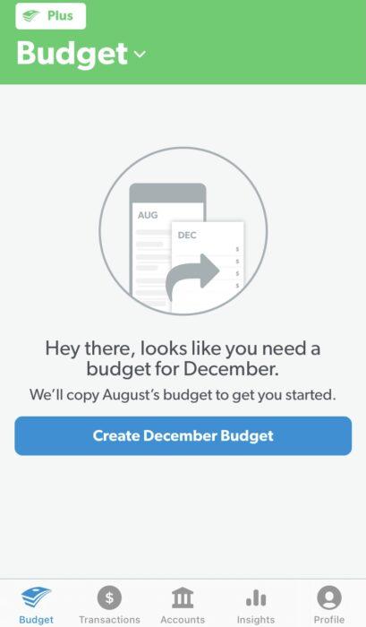 Budget Help