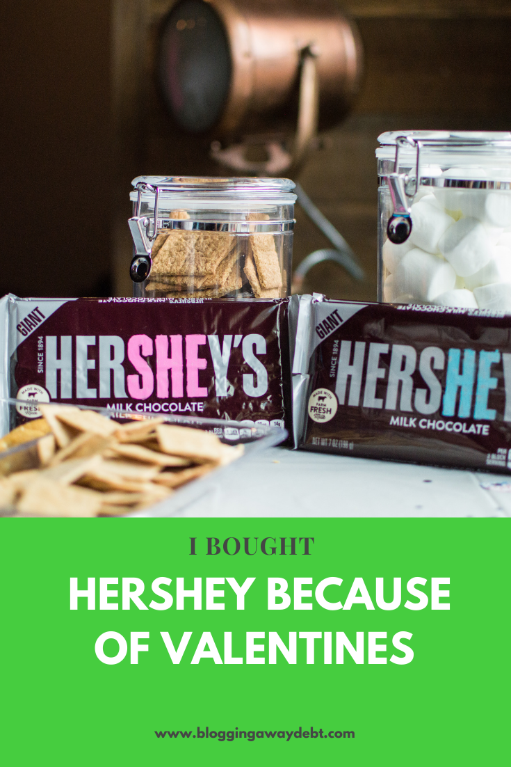 I bought Hershey for Valentines